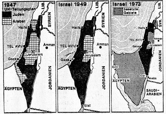 Ein Staat, durch Gewal und Moral legitimiert: Israel